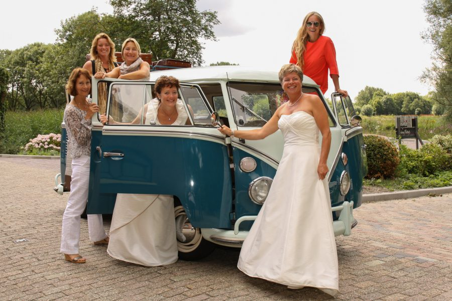 fotografie getuigen bruidsmeisjes