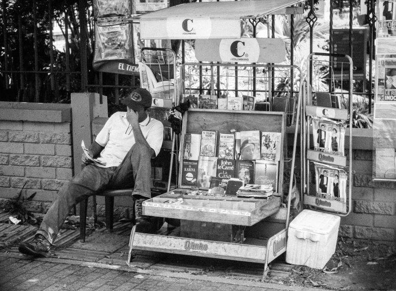 Bookseller, Medellin